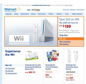 Price Drop! Save $50 on Nintendo Wii