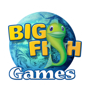 big fish games logo ladies of leet